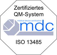 Zertifizert – DIN EN ISO 13485